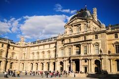 Louvre muzeum - Paryż, Francja Fotografia Royalty Free