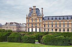 Louvre Muzeum, Paryż Francja - zdjęcie stock