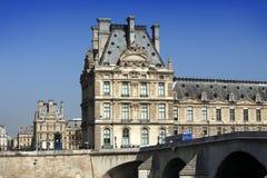Louvre muzeum w Paryż Zdjęcie Royalty Free
