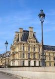 Louvre muzeum w Paryż Zdjęcia Royalty Free