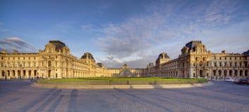 Louvre muzeum w Paryż, Francja Obraz Royalty Free