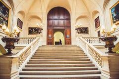 Louvre muzeum wnętrze zdjęcia stock