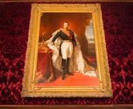 Louvre Napoleon Muzealny portret zdjęcia stock
