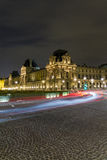 The 'Louvre' by Night Royalty Free Stock Photography