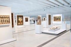 Louvre obiektywu ekspozycja zdjęcia royalty free