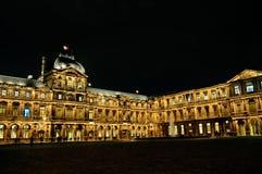 louvre pałac zdjęcia stock