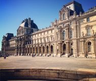 The Louvre Palace Royalty Free Stock Images