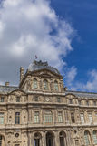 Louvre Palace in Paris Stock Images