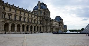 The Louvre Palace in Paris, France, June 25, 2013 royalty free stock photos