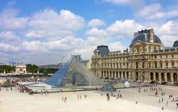 Louvre, París Fotografía de archivo