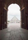 Louvre a Parigi Immagine Stock Libera da Diritti