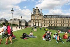 Louvre, Parijs Royalty-vrije Stock Foto's
