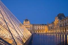 Louvre in Parijs Stock Foto