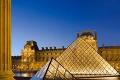 Louvre in Parijs Royalty-vrije Stock Foto