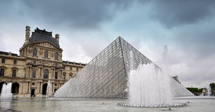Louvre - Parijs Royalty-vrije Stock Foto
