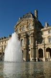 Louvre Parijs Royalty-vrije Stock Afbeelding
