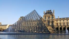 Louvre Parijs Stock Foto's
