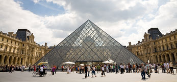 Louvre, Paris Royalty Free Stock Photo