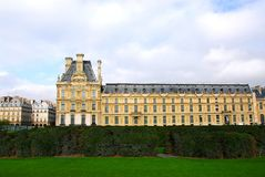 Louvre Paris Royalty Free Stock Photography