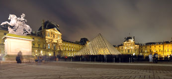 The Louvre, Paris Stock Images