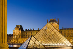 Louvre in Paris Royalty Free Stock Photo