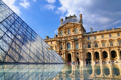 The Louvre, Paris Stock Photos