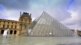 louvre Paris obraz stock