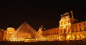 Louvre, paris Stock Photography