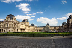 The Louvre in Paris. France Stock Photos