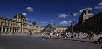 Louvre in Paris Stock Image