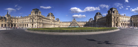 Louvre in Paris. On July 14, 2012, France Stock Photos