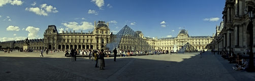 Louvre in Paris Royalty Free Stock Image