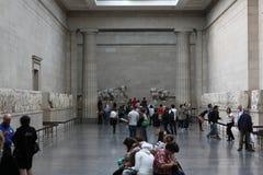 Louvre Paris Arkivfoton