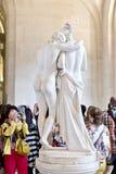 louvre Paris Zdjęcia Royalty Free