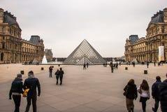 louvre Paris Zdjęcie Stock