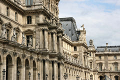 louvre Paris Obrazy Stock