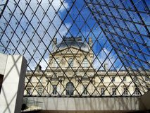 The Louvre Paris Stock Photo