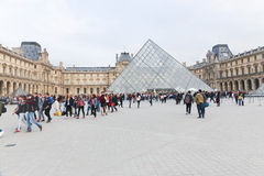 Louvre - Paris Royalty Free Stock Photography