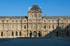 Louvre Paris Stock Photo