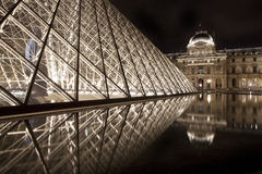 The Louvre in Paris Stock Images