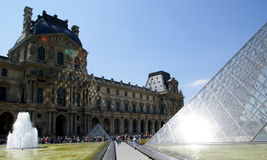 The Louvre, Paris, France Royalty Free Stock Photo