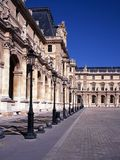 The Louvre, Paris, France. Stock Image
