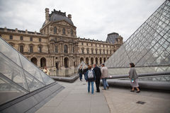 The Louvre in Paris Royalty Free Stock Images