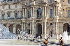 Louvre Paris Royalty Free Stock Image
