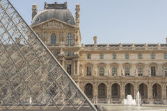 Louvre Paris Royalty Free Stock Photos