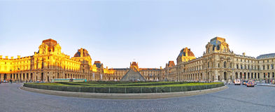 Louvre Paris Royalty Free Stock Photography