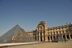 Louvre, Paris, France Royalty Free Stock Photography
