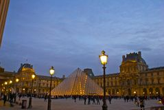 Louvre, Paris, France Royalty Free Stock Photo