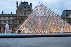 Louvre in Paris, France Stock Photos