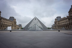 Louvre in Paris, France Royalty Free Stock Images